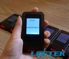 www.leetekorea.com #Geni #Coaster #NFC #Card #LEETEK #korea #cafe #Restaurant #Management #Wireless #Paging #Pager #Guestcall #Tablecall #Staffcall #Servercall #System #Service