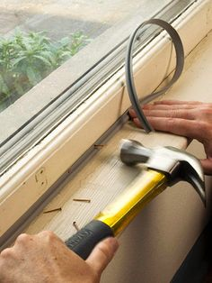 home repairs,home maintenance,home fixes,home maintenance tips,home repair diy Home Renovation, Home Remodeling, Home Improvement Projects, Home Projects, Door Weather Stripping, Shops, Home Fix, Window Repair, Diy Home Repair