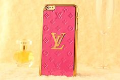 Luxury Fasion Pink Louis Vuitton iPhone 6 (Plus) Case | AppleiPhone6PlusCases