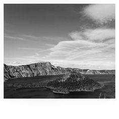 Black and White Crater Lake. #craterlake #craterlakenationalpark #oregon #sevenwondersoforegon #volcano #upperleftusa #pnwonderland #pnwisbeautiful #pnw #blackandwhite #iphoneonly #oregonexplored