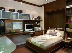 Murphy Bed - Contemporary - Home Office - los angeles - by Erica Islas  / EMI Interior Design, Inc.