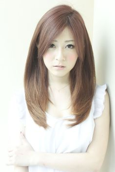 Loved Natural Straight / loved Natural Straight | Hair Styles | [beauty salon in Ginza] AFLOAT JAPAN / Float [Japan Chuo-ku, Tokyo]
