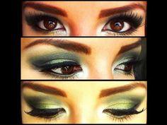 Maquillaje Ahumado en Verde
