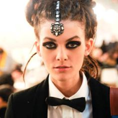 who said dreadlocks couldnt be 'chique' this picture is from chanel runway