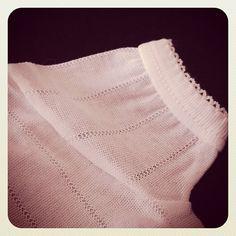 Algodón de perlé con tacto de seda... pronto en nuestra web!