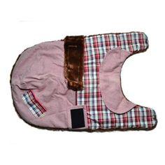Capa para Cachorro Alaska Rosa com Xadrez Vermelho Pickorruchos - MeuAmigoPet.com.br #petshop #cachorro #cão #meuamigopet
