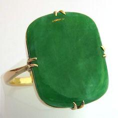 Bague jade 1043