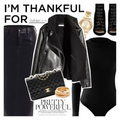 """I'm Thankful for..."" by vanjazivadinovic ❤ liked on Polyvore featuring Michael Kors, Chanel, Kenneth Jay Lane, Barbara Bui, polyvoreeditorial, imthankfulfor and twinkledeals"