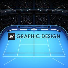 blue hard surface tennis court and stadium full of spectators with spotlights tennis sport theme render illustration background my own design Sport Theme, Sports Stadium, Spotlights, Tennis, Royalty Free Stock Photos, Surface, Illustration, Pictures, Blue
