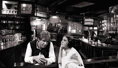 Love this: Han and Leia at a bar