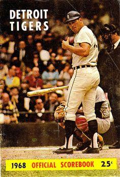 1968 Detroit Tigers Scorebook.....             Bill Freehan