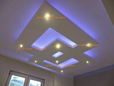 An Essential Of Modern Architecture - The Suspended Ceiling - False Ceiling Ideas - Gypsum Ceiling Design, House Ceiling Design, Ceiling Design Living Room, Bedroom False Ceiling Design, False Ceiling Living Room, Living Room Designs, Floor Ceiling, Ceiling Beams, Ceiling Lights