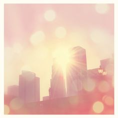 LA Center of Photography #Bokeh #Pastel #Sun #Beautiful