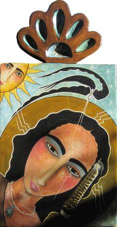 St. Kateri             Tekakwitha by Virginia Maria Romero