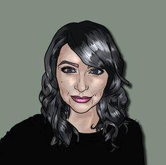 Self Portrait using Photoshop