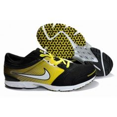 Nike Zoom Speed Racer 2 Mens Shoes Black Yellow 385943 311