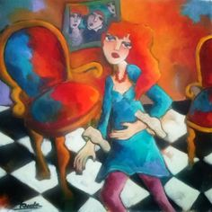 Fauvism Artists | fauve martine dechavanne roannaise