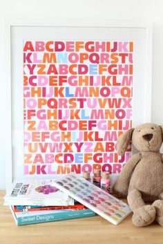 Artwork for nursery or toddler's room!