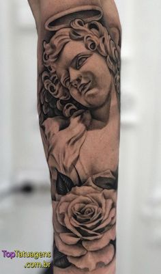 Tattoos for men – Tattoos And Forarm Tattoos, Cool Forearm Tattoos, Dope Tattoos, Badass Tattoos, Body Art Tattoos, Hand Tattoos, Rose Tattoos For Men, Black Ink Tattoos, Angel Tattoo Designs