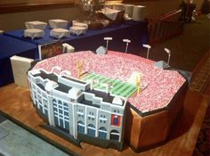 Husker Cake Memorial Stadium