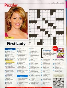 That time I was in People Magazine's crossword. #TBT