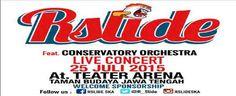 Jadwal Konser Musik Rslide Feat Conservatory Orchestra Di Teather Arena Taman Budaya Jawa Tengah, event musik Orkestra, SKA/Reggae/Dub di Jawa Tengah