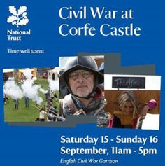 Besieged and betrayed – the fall of Corfe Castle brought to life Sat 15-Sun16 September 2012