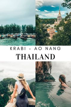 The beautiful island of Ao Nang Krabi in Thailand has so much to offer. From enjoying the beach, surrounding areas to shopping and visiting their sacred temples, here are my top 7 things to do in Ao Nang, Krabi. Ao Nang Thailand, Ao Nang Krabi, Krabi Thailand, Thailand Travel, Stuff To Do, Things To Do, Beautiful Islands, Temples, Beach
