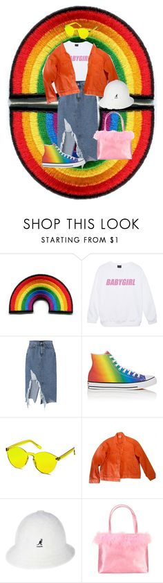 """#Pride"" by a4styled ❤ liked on Polyvore featuring Converse, ASOS, kangol and pride"