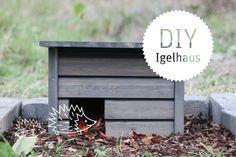 DIY Igelhaus aus geschlossener Rhombusverschalung   http://www.simsalading.de/igelhaus/