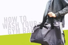 How to wash a gym bag, duffel bag, backpack. GQ, cleaning expert Jolie Kerr, and POPsugar all agree that we should be cleaning these gym bags at least once a month! What do you do when the tag doesn't tell you how to clean an item? Ask HEX. Gym Bag Essentials, Gym Bags, Host A Party, Getting Wet, Duffel Bag, Popsugar, Cleaning Hacks, Gq, Bucket Bag
