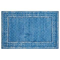 Safavieh Adirondack Catrine Framed Lattice Rug, Light Blue