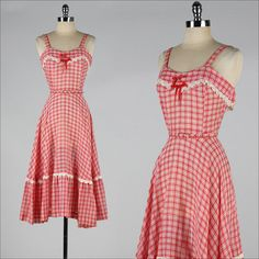 Summer dress vintage 14k