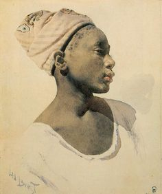 "Lev Bakst Samuilovich                                                            ""Young Dahomeyan""  1895"