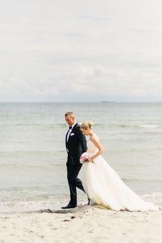 Bryllup fra Strand Hotel Fevik av Michaela Klouda