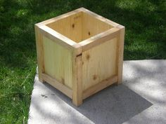 Lakeside Wood Decor: Flower/Planter Boxes