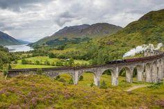 Glenfinnan Viaduct, Highlands of Scotland