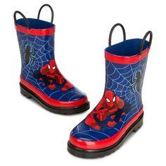 Spider-Man Rain Boots for Boys