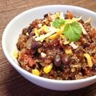 Quinoa and Black Bean Chili Recipe - Allrecipes.com