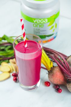 Mo's Cranberry Beet Smoothie