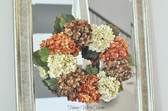 Honey We're Home: DIY Fall Floral Wreath