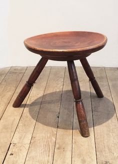A Late Eighteenth Century Sycamore Stool | Rose Uniacke