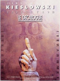 Decalogue (Foreign) 11x17 Movie Poster (1988)