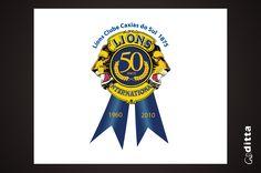 Lions Caxias - Selo 50 anos