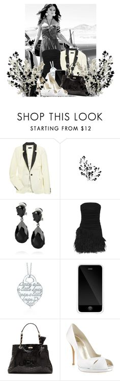 """""""Selena Gomez"""" by someplaceinhell ❤ liked on Polyvore featuring Joseph, Kenneth Jay Lane, Elizabeth and James, Tiffany & Co., Incase, Kate Spade and Stuart Weitzman"""