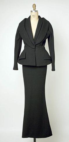 Evening Suit, Dior, 1997-98