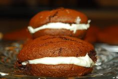 Whoopie Pies made from a boxed cake mix