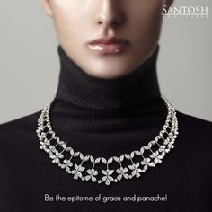 Women are Allah's most beautiful creatures. And, this necklace from Santosh…