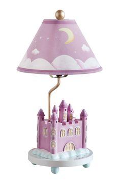 "Princess 18"" H Table Lamp with Empire Shade"