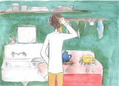 「とある絵描きのバラッド」ジョゼの部屋